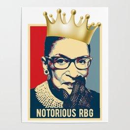 Notorious RBG - Ruth Bader Ginsburg Poster