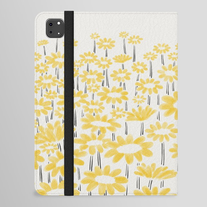 Sunflower Field iPad Folio Case