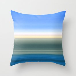 Summer Time in the Valley Throw Pillow