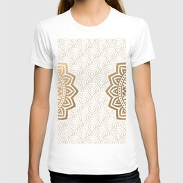 Gold Mandala 13 T-shirt