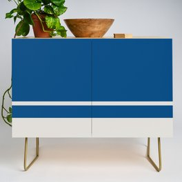 Blue Is The Coolest Color Credenza