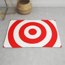 Target (Red & White Pattern) Rug