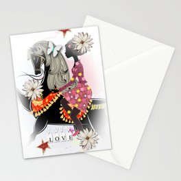 African American Love Parade Stationery Cards