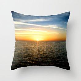 Sharm Sunrise 4 Throw Pillow