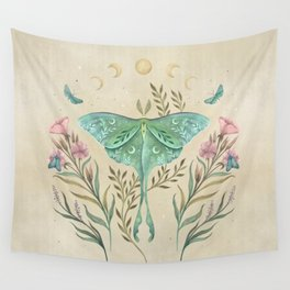 Luna and Forester - Oriental Vintage Wall Tapestry