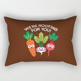 Motivegetable Speakers Rectangular Pillow