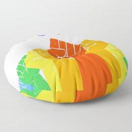 Resist (Pride) Floor Pillow