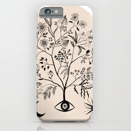 Let Me See All Your Branches Pastel Color iPhone Case