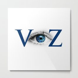 VyZ - Making Movies from ImproVyZed Music Metal Print