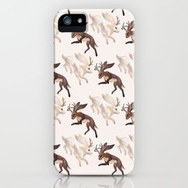Ying Yang Jackalope iPhone Case