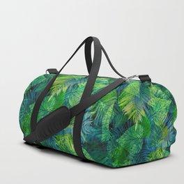 Forest Flora 8 Duffle Bag
