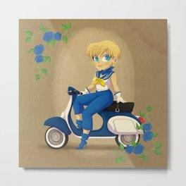 Retro Sailor Uranus Metal Print