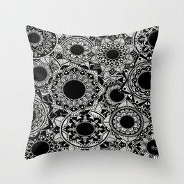 Mandala Madness! Throw Pillow