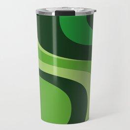 70's Green Vibe Travel Mug
