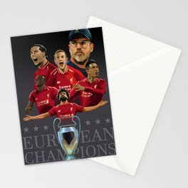 Liverpool - Football Kings of Europe Stationery Cards