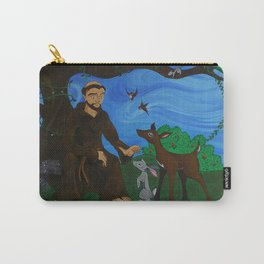 St. Francis Carry-All Pouch