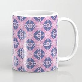 purple diamonds and pink lace Coffee Mug