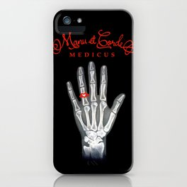 Manu et Corde Medicus iPhone Case