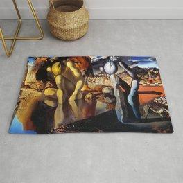 Salvador Dali Metamorphosis of Narcissus 1937 Artwork for Wall Art, Prints, Posters, Tshirts, Men, Women, Kids Rug