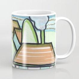 Color Landscape   Piliscsév, Hungary Coffee Mug