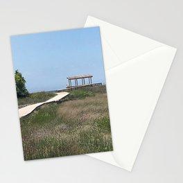 """Mentor Headlands Marsh Walk, Ohio"" Photography by Willowcatdesigns Stationery Cards"