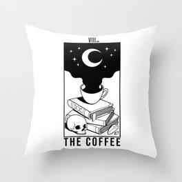The Coffee (White) Throw Pillow