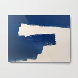 BLUE Metal Print