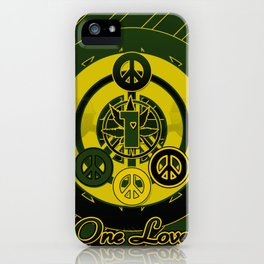 One Love (Green) iPhone Case