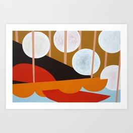 VIVID DREAM no.4 Art Print