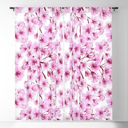 Cherry blossom pattern Blackout Curtain