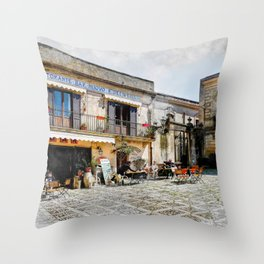Erice art 4 Throw Pillow