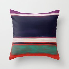 Rothko Inspired #12 Throw Pillow