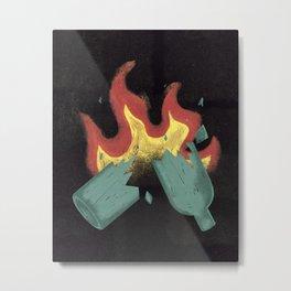Molotov Metal Print