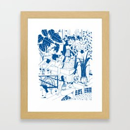 Party I Framed Art Print