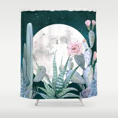 Desert Nights by Nature Magick Shower Curtain