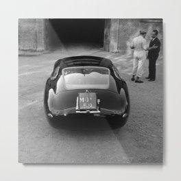 1957 4.5 Coupe, Modena, Italy Italian Sport Car Factory Photograph Metal Print