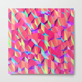 Untitled Pattern Metal Print
