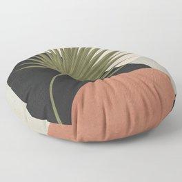 Tropical Leaf- Abstract Art 5 Floor Pillow