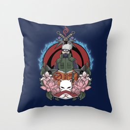 Hatake Shinobi Throw Pillow