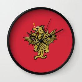King Ghidorah Wall Clock