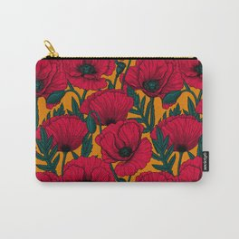 Red poppy garden    Carry-All Pouch