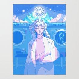 Mindful w/ Noelle - Dreamy Anime Interpretation Poster