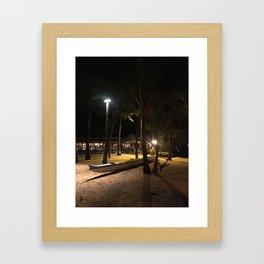 MAMA'S OUTRIGGER Framed Art Print