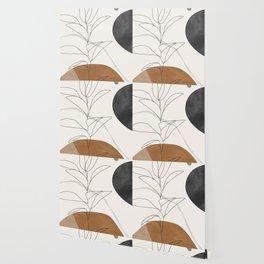 Abstract Art /Minimal Plant Wallpaper