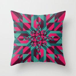Star Quilt Throw Pillow