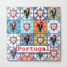 Galo de Barcelos, Portugal Metal Print