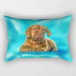 Dogue de Bordeaux Rectangular Pillow