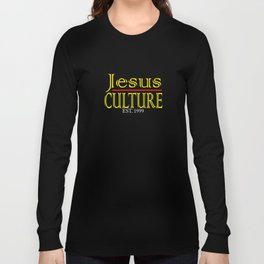 """""""Jesus Culture"""" tee design for your faith and blessed holiday this seasons of giving! Nice gift too! Long Sleeve T-shirt"""