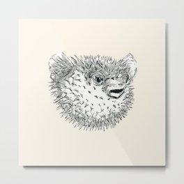 Pufferfish Metal Print