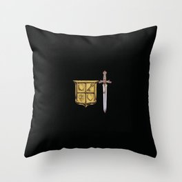 Zelda Sword & Shield Throw Pillow